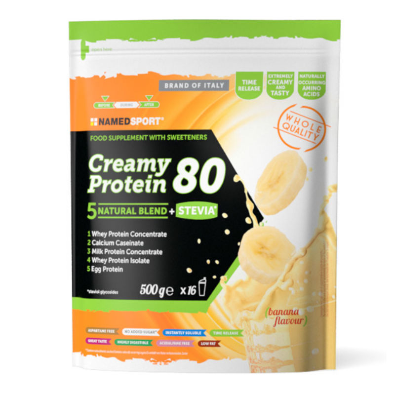 NAMED CRAMY PROTEIN 80 500g BANAAN recovery-drink